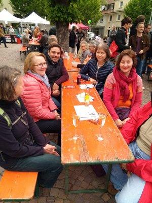 Vorstände der SPD OV Rheinfelden und SP OV Rheinfelden (Schweiz)