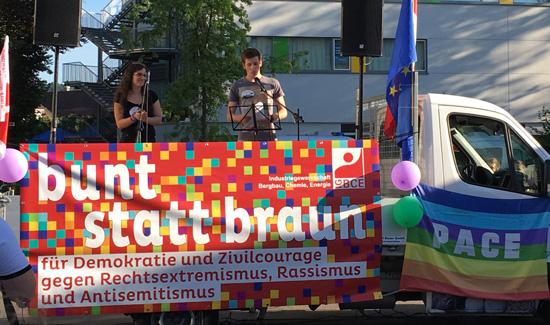 Nico Kiefer, Jusos spricht für das Jugendparlament