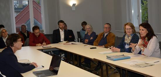 Diskussion mit Staatsrätin Schwarzelühr-Sutter